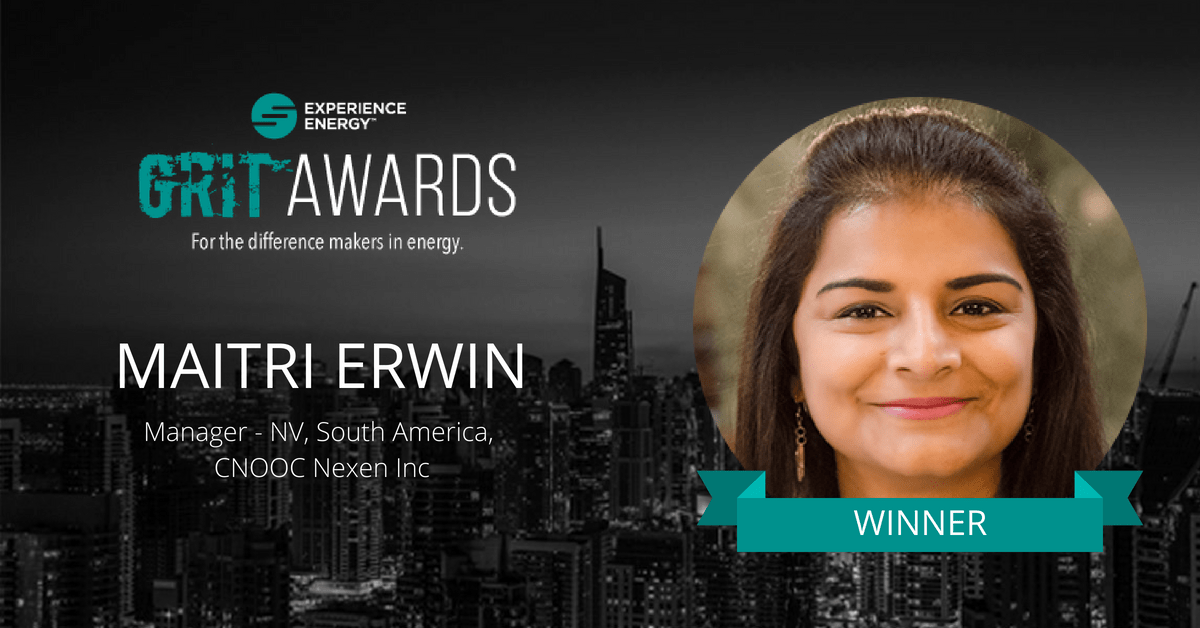 Grit award winner Maitri Erwin on Experience Energy