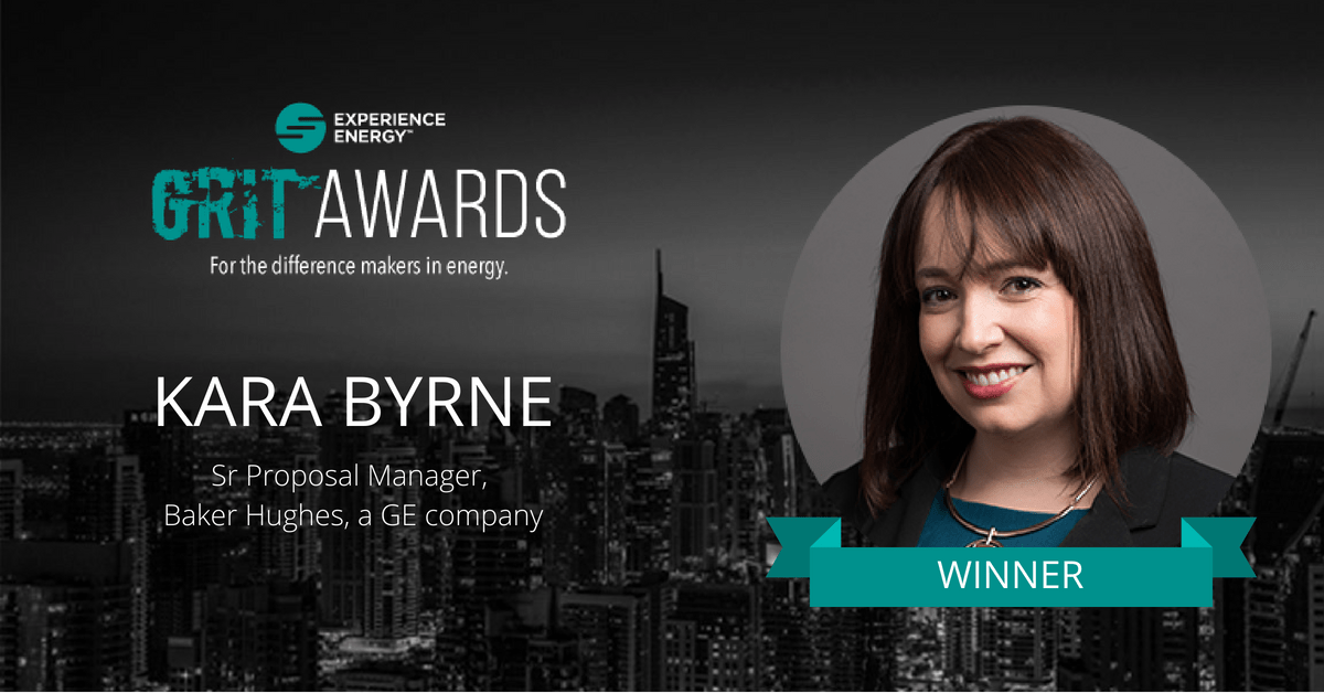 Kara Byrne GRIT Award winner on Experience Energy