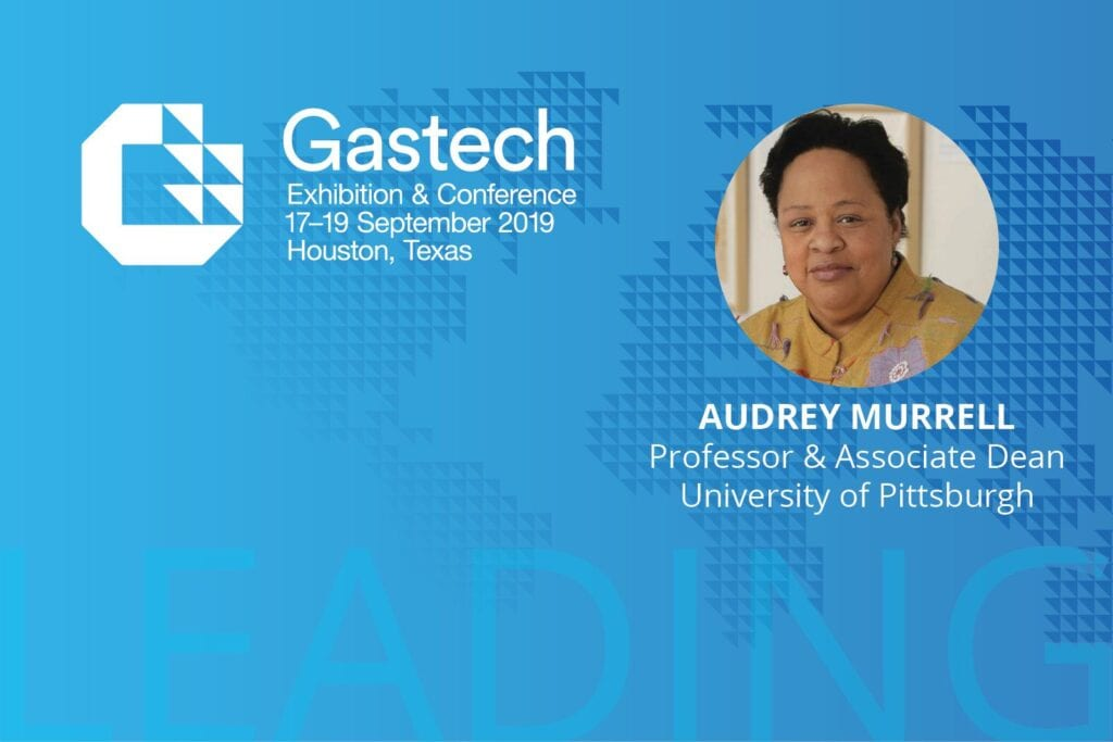 Audrey Murrell offers advice for diversity and inclusion in energy, Gastech on Experience Energy