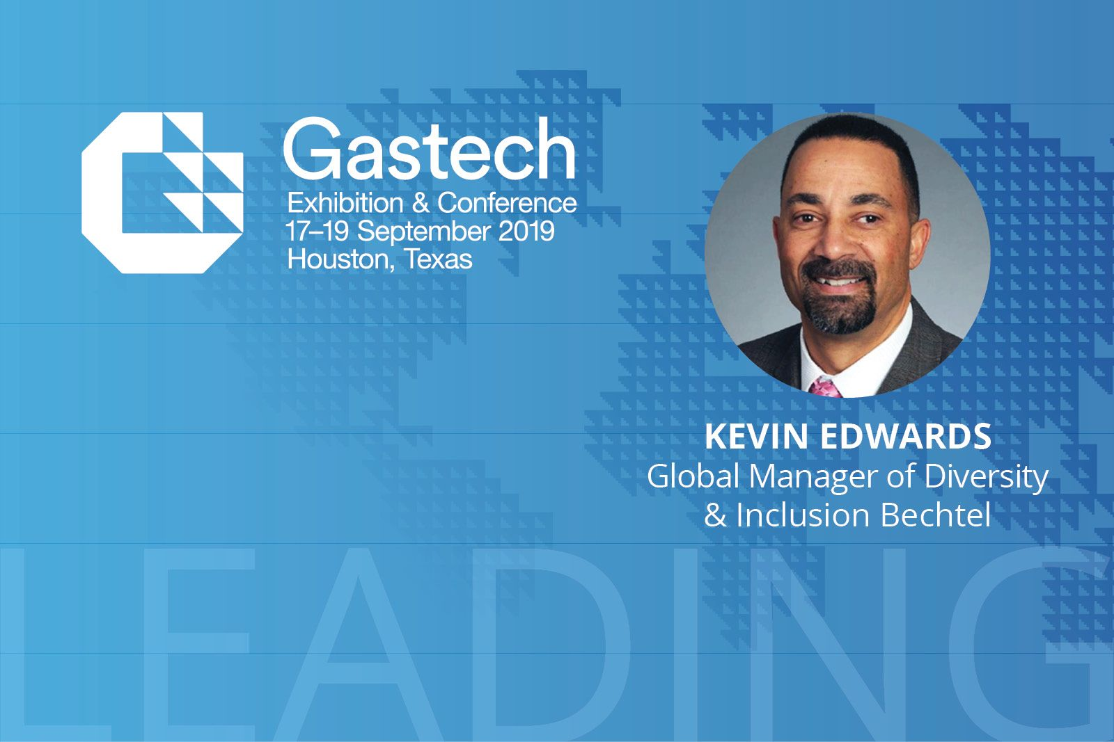 Kevin Edwards gives advice in the Gastech Diversity and Inclusion ebook on Experience Energy
