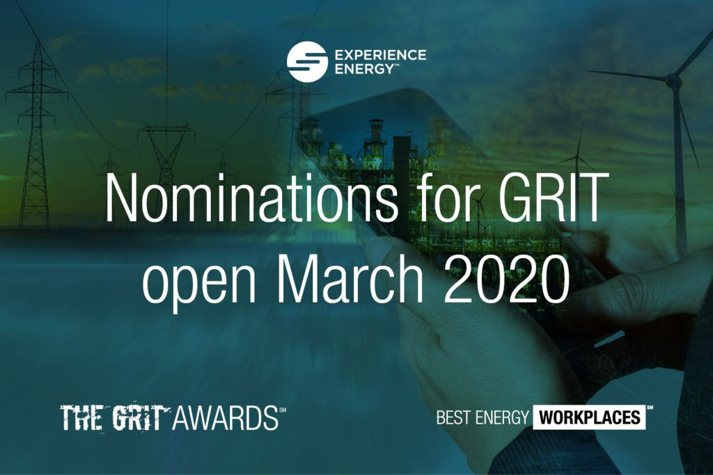 Nominations for the 2020 GRIT Awards presented by Experience Energy open in March.